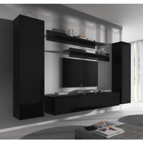 conjunto meubles nerea negro b1