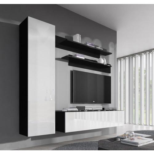 conjunto meubles nerea negro blanco g1