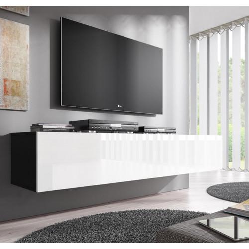 tv-meubel-fabiana-xl-zwart-wit