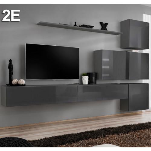 Samenstelling Baza 2E grijs (3m)