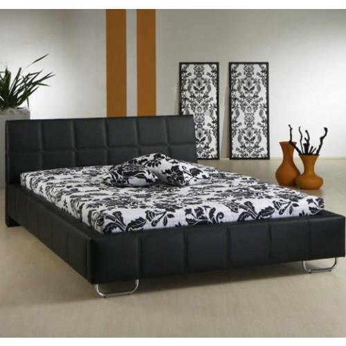 Bed Scurcola – Zwart (140x190cm)