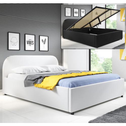 cama levin blanco