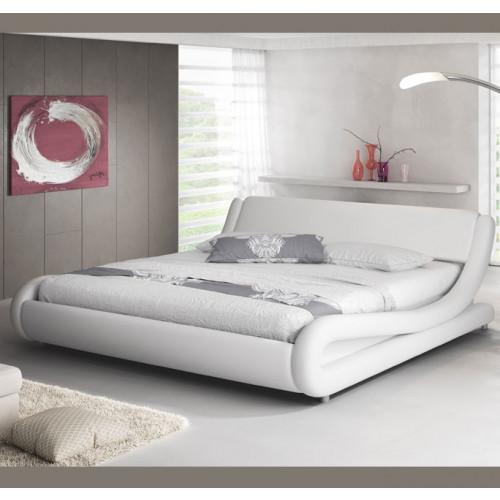 cama piccione blanca