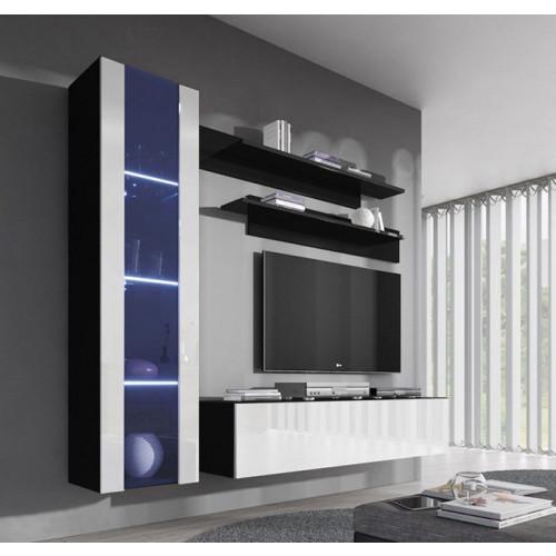 conjunto meubles nerea negro blanco g2