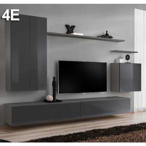 Samenstelling Baza 4E grijs (2,7m)