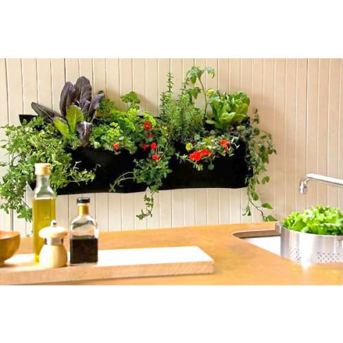 Planten en kruidenzak met 1 pocket