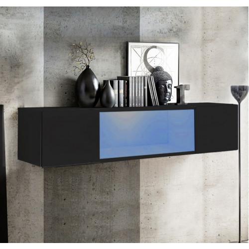 mueble tv kaira h150cc negro