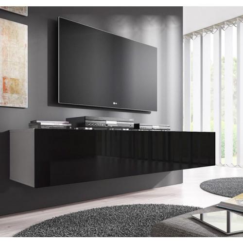 Tv Kast Zwart Wit.Domensino Tv Meubel