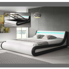 bed patricia wit zwart