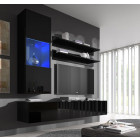 conjunto meubles nerea negro h3
