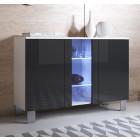 dressoir_luke_a1_aluminium_poten_wit_zwart