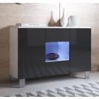 dressoir_luke_a2_aluminium_poten_wit_zwart