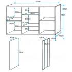 medidas_le_lu_a1_pies_aluminio