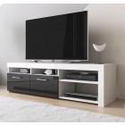 tv-meubel-clio-wit-zwart