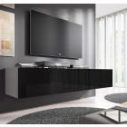 tv meubel fabiana xl wit zwart