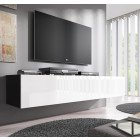 tv meubel fabiana xl zwart wit